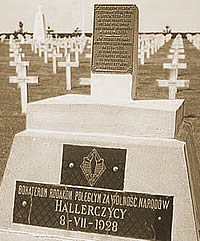 French Memorial For Polish Soldiers